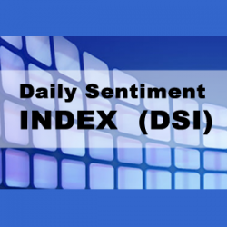 """Daily Sentiment Index (DSI) 1/2 Yr  <br><br> <p style=""""color:red;"""">REG PRICE $1295  SALE $695<br>SAVE $600</p>"""
