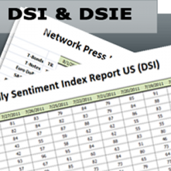 """Daily Sentiment Index: US (DSI) & EU (DSIE) 1 Yr <br><br> <p style=""""color:red;"""">REG PRICE $2295  SALE $1300<br>SAVE $1695</p>"""